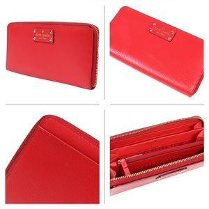 KATE SPADE ♠️ - Red NEDA WELLESLEY Wallet